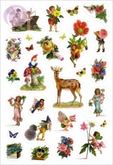 Fairyland Stickers, Bambi