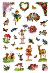Fairyland Stickers, Blumenherz