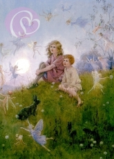 Postkarte Do you belive in Fairies