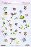 Sticker Flower Pattern